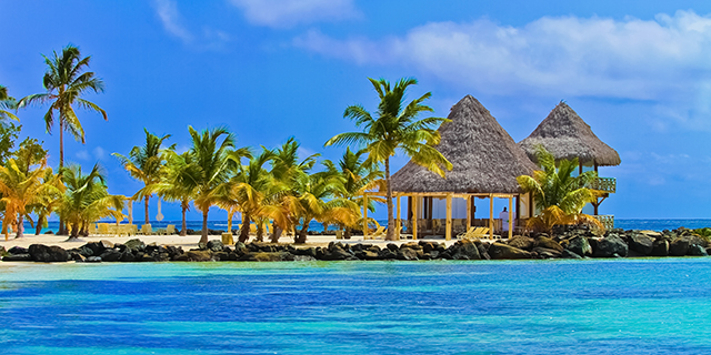 Vacation packages and special offers to the Caribbean.