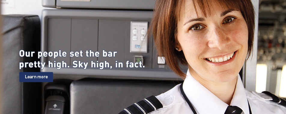 Our people set the bar pretty high. Sky high, in fact.