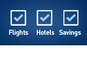 Flights - Hotels - Savings
