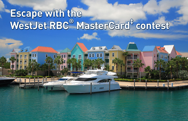 Escape with the WestJet RBC®MasterCard‡ Contest