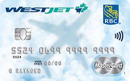 WestJet RBC<sup><sup>®</sup></sup> World Elite MasterCard<sup><sup>‡</sup></sup> primary cardholders  get their first checked bag free.