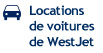 Locations de voitures de WestJet