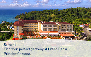 Find your perfect getaway at Grand Bahia Principe Cayacoa.