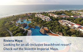 Mexico - Experience a relaxing beachfront vacation at Valentin Imperial Maya