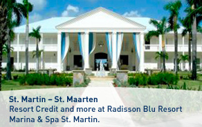 Resort Credit and more at Radisson Blu Resort Marina & Spa St. Martin.