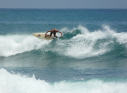 Bathsheba Surfing