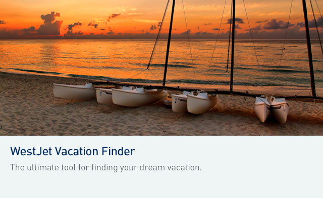 WestJet Vacation Finder